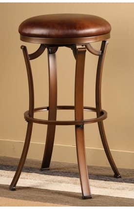 Hillsdale Furniture Stools Kelford Backless Swivel Bar Height Stool Furniture