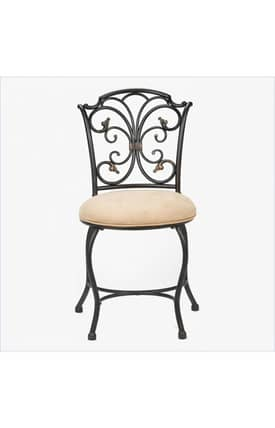 Hillsdale Furniture Vanities Sparta Vanity Stool Furniture