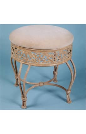 Hillsdale Furniture Vanities Villa III Vanity Stool Furniture