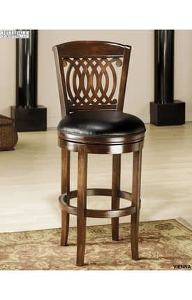 Hillsdale Furniture Bar Stools Vienna Swivel Bar Stool Furniture