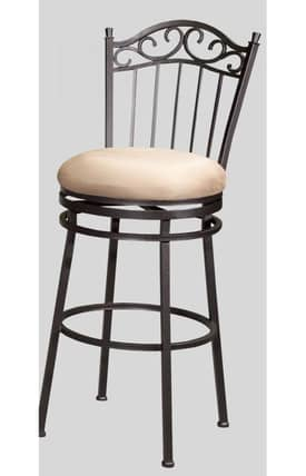 Chintaly Imports Bar Stools Memory Return Swivel Counter Stool Furniture