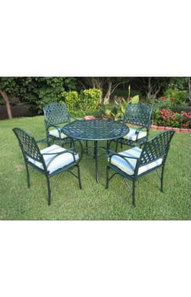 Lauren & Co Outdoor S5 Diamond Lattice Game Group Chair Furniture