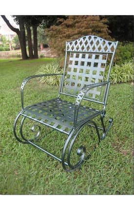 Lauren & Co Outdoor Iron Milano Rocker Furniture
