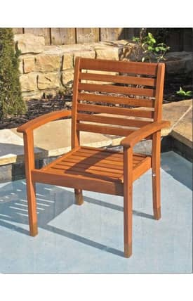 Lauren & Co Outdoor Royal Tahiti Oslo Contemporay Chair Furniture