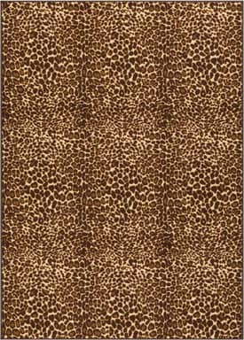 Well Woven None Leopard Rug