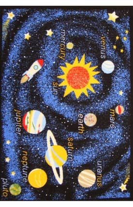 Well Woven StarBright Space Exploration Rug