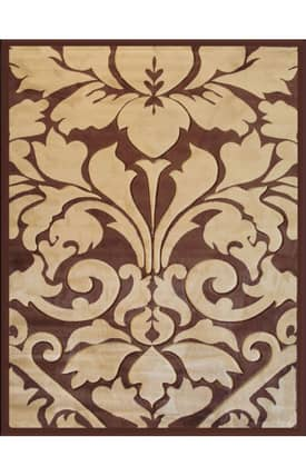 Well Woven Melody Royal Damask Rug