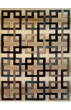 Well Woven Melody Palatial Squares Rug