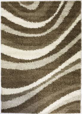 Well Woven Madison Shag Sandbar Waves Rug