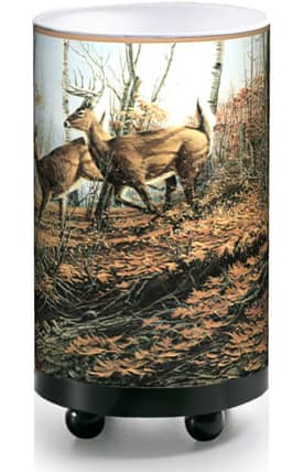 Illumalite Western Western Autumn Deer CAS-1604 Table Lamp Lighting
