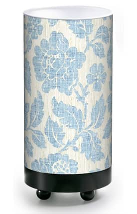 Illumalite Home Decor Home Decor Blue Leaves HD-504 Table Lamp Lighting