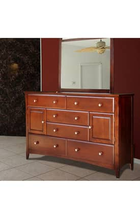 VIFAH Outdoor Living In Style Contemporary Berkshire Wood Dresser Furniture