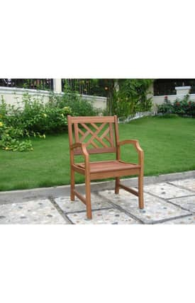 VIFAH Outdoor Living In Style Outdoor Armchair Furniture