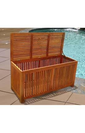 VIFAH Outdoor Living In Style Outdoor Storage Box Furniture