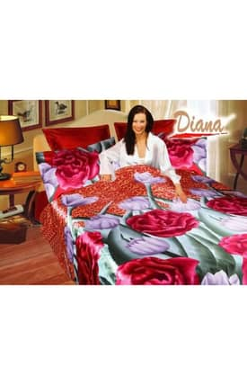 2 Decorate Diana Jasmine Bed in a Bag Duvet Cover Set