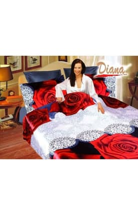 2 Decorate Diana Rose Bed in a Bag Duvet Cover Set