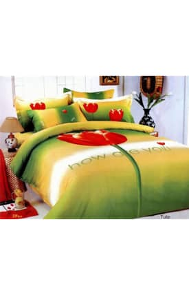 2 Decorate Le Vele Tulip Bed in a Bag Duvet Cover Set