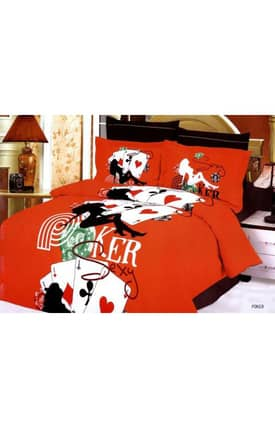 2 Decorate Le Vele Poker Bed in a Bag Duvet Cover Set