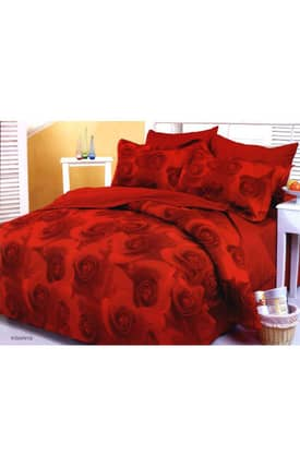 2 Decorate Le Vele Rose Seau kibarie Bed in a Bag Duvet Cover Set
