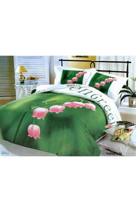 2 Decorate Le Vele Valley Lily Bed in a Bag Duvet Cover Set