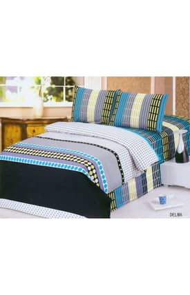 2 Decorate Le Vele Delma Bed in a Bag Duvet Cover Set