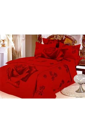 2 Decorate Le Vele Roses Gullu Bed in a Bag Duvet Cover Set