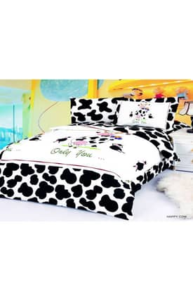 2 Decorate Le Vele Happy Cow Bed in a Bag Duvet Cover Set
