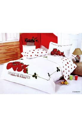 2 Decorate Le Vele Strawberry Bed in a Bag Duvet Cover Set