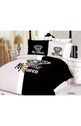 2 Decorate Le Vele Crown Bed in a Bag Duvet Cover Set