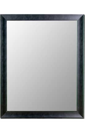 Hitchcock-Butterfield Cameo Executive Leather Rectangle Mirror
