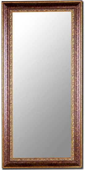 Hitchcock-Butterfield Cameo Oxford Scroll Rectangle Mirror