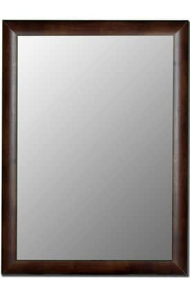 Hitchcock-Butterfield Cameo Steuben Curved Rectangle Mirror