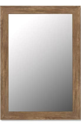 Hitchcock-Butterfield Cameo Nichols Barnwood Rectangle Mirror