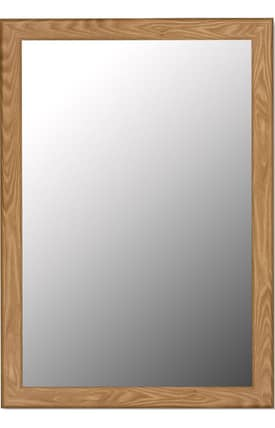 Hitchcock-Butterfield Cameo Oneida Petite Rectangle Mirror
