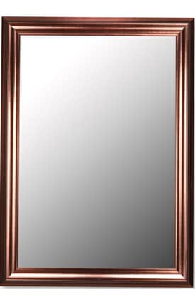 Hitchcock-Butterfield Cameo Rowena Rectangle Mirror