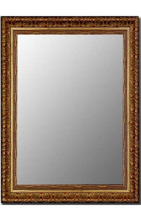 Hitchcock-Butterfield Cameo Hickory Rectangle Mirror