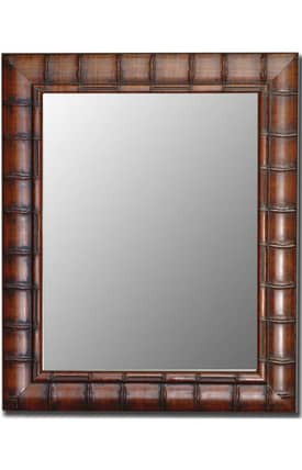 Hitchcock-Butterfield Cameo Bamboo Rectangle Mirror