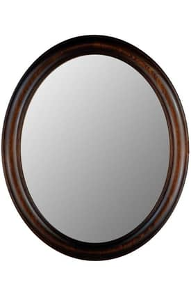 Hitchcock-Butterfield Oval Fulton Oval Mirror