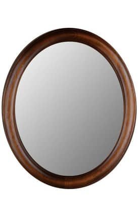 Hitchcock-Butterfield Oval Fleming Oval Mirror
