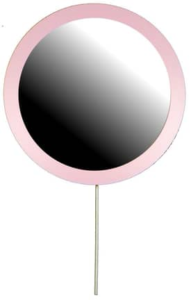 Hitchcock-Butterfield Lollipop Lollipop Round Wall Mirror