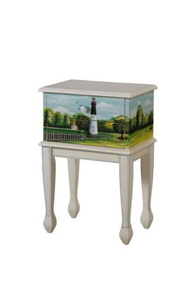 Gails Accents Furniture Tables Shoreline Dick Hamilton Lighthouse End Table Furniture
