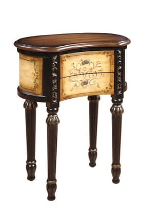 Gails Accents Furniture Tables Houston Kidney End Table Furniture