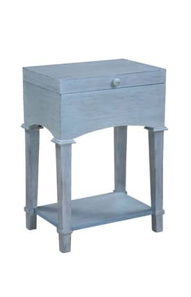 Gails Accents Furniture Tables Cottage Driftwood Trunk End Table Furniture
