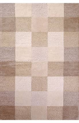 Sapphire Rugs Sapphire Contemporary Handmade Wool-Eternity-Checkerboard Rug