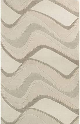 Sapphire Rugs Sapphire Contemporary Handmade Wool-Eternity-Waves Rug