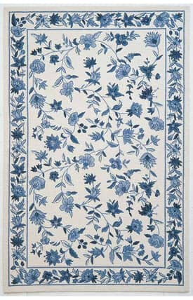 Sapphire Rugs Sapphire Country & Floral Handmade Wool-Colonial-Floral Rug
