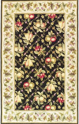 Sapphire Rugs Sapphire Novelty Handmade Wool-Colonial-Summer Fruits Rug