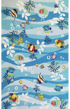 Sapphire Rugs Sapphire Novelty -Sonesta-Tropical Fish Rug