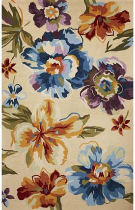 Sapphire Rugs Sapphire Country & Floral -Sonesta-Yellow Flora Rug