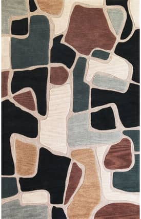 Sapphire Rugs Sapphire Contemporary -Milan-Bedrock Rug
